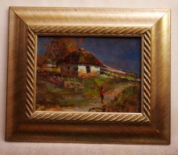 Picturi cu peisaje drumul