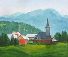 Picturi cu peisaje Miez de zi la borsa