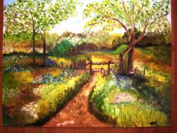 Picturi cu peisaje Linistea culorilor