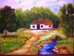 Picturi cu peisaje Sfarsit de vara