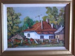 Picturi cu peisaje Casa copilariei