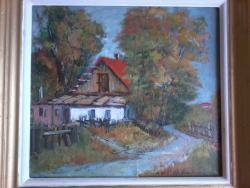 Picturi cu peisaje Casa mamei