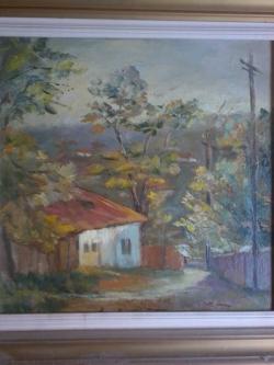 Picturi cu peisaje Casa pe Sararie