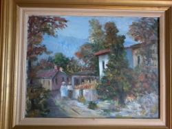 Picturi cu peisaje Strada din Copou
