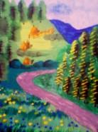 Picturi cu peisaje Sucevita 1