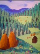Picturi cu peisaje Sucevita 2