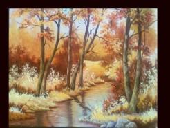 Picturi cu peisaje Girla
