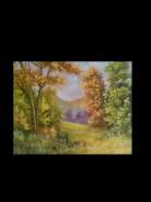 Picturi cu peisaje Valea cimpului