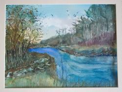Picturi cu peisaje lunca