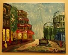 Picturi cu peisaje Paris1