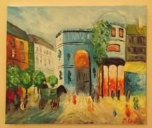 Picturi cu peisaje Paris2