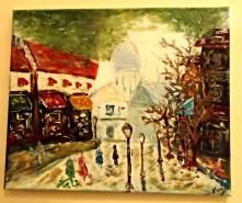 Picturi cu peisaje Paris3