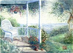 Picturi cu peisaje Asteptare