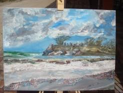 Picturi cu peisaje Marea in furtuna