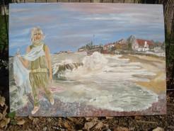 Picturi cu peisaje Marea la 2 mai