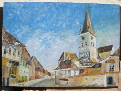 Picturi cu peisaje Cisnadie