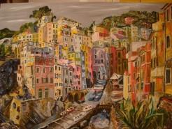 Picturi cu peisaje Riomaggiore