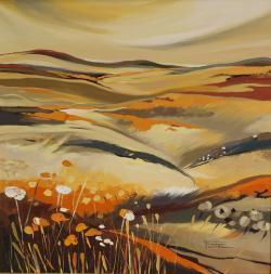 Picturi cu peisaje Anotimpuri calde