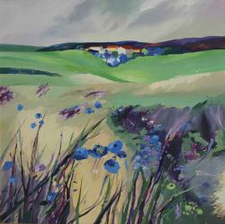 Picturi cu peisaje Ecoul satului