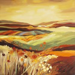 Picturi cu peisaje Iulie
