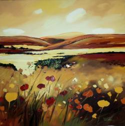 Picturi cu peisaje Sfarsitul toamnei