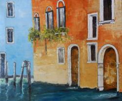 Picturi cu peisaje Vedere din Venetia