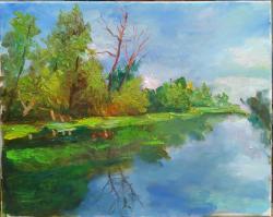 Picturi cu peisaje Din deltă