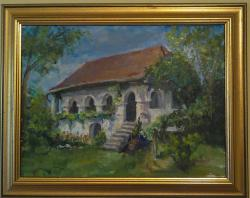 Picturi cu peisaje La conac