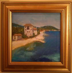 Picturi cu peisaje Pe țărm