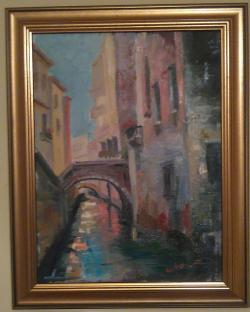 Picturi cu peisaje Podurile Veneției