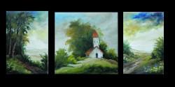 Picturi cu peisaje 3 peisaje mici