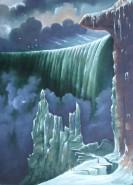 Picturi cu peisaje Cascada niagara