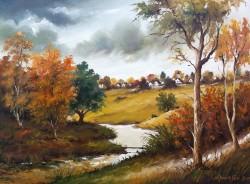 Picturi cu peisaje In valcea...