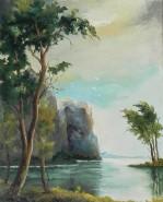 Picturi cu peisaje Munte la mare