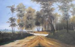 Picturi cu peisaje Peisaj cu drum