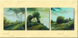 Picturi cu peisaje Trei peisaje mici
