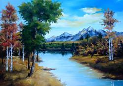 Picturi cu peisaje un peisaj de vara 1