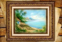 Picturi cu peisaje un peisaj mediteranean