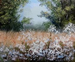 Picturi cu peisaje flori salbatice