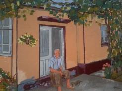 Picturi cu peisaje Casa la tara