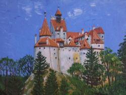 Picturi cu peisaje Transylvania-Dracula\'s Castle