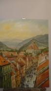 Picturi cu peisaje Biserica neagra-brasov