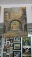 Picturi cu peisaje Turnul chindiei-targoviste