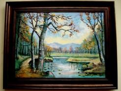 Picturi cu peisaje Compozitie de toamna