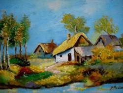 Picturi cu peisaje Delta Dunarii1