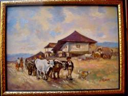 Picturi cu peisaje Hanul de la oratii