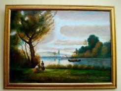 Picturi cu peisaje Placerea toamnei1