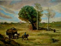 Picturi cu peisaje Sfarsit de toamna