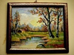 Picturi cu peisaje Simfonie de toamna1