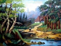 Picturi cu peisaje Tablou peisaj de vara